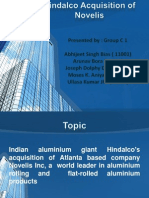 Hindalco Acquisition of Novelis  PPT