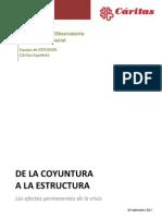 VII Informe del Observatorio de la Realidad Social-Septiembre 2012