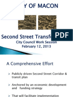 2nd Street Downtown Corridor Master Plan Presentation.
