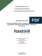 PLANO DE NEGÓCIO   Itasteel Fundição e Montagem de Válvulas SA.