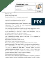 Administrativo - Andre Uchoa - Aula 1 - 09.05.12
