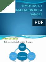 5.- HEMOSTASIA Y COAGULACIÓN DE LA SANGRE