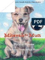 Mitzvah the Mutt (first chapters)