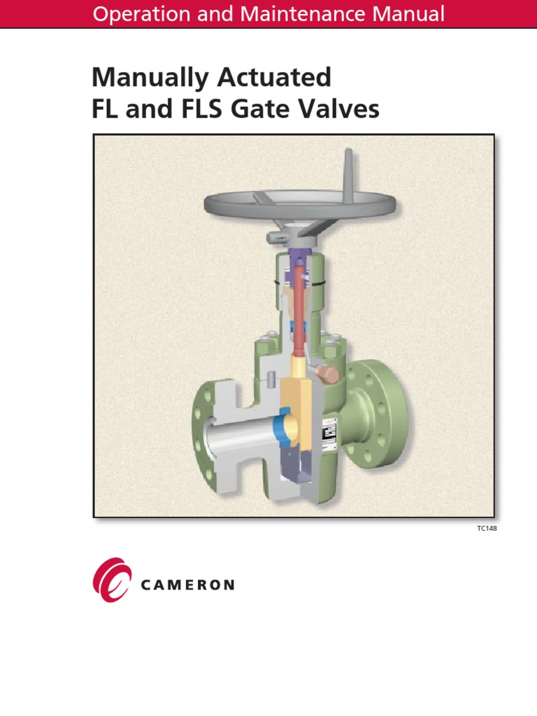 Manually Actuated Fl And Fls Gate Valves Valve Bearing