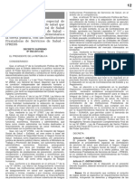 DS 002_2013 Procedimiento Especial de Contratacion de Servicios de Salud Del SIS y ESSALUD Complemnetaria Con Las IPRESS