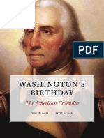 The Meaning of George Washington's Birthday Holiday