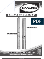 Mp Bombas Evans SD4