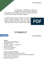 Plano de Negócios - roteiro visual