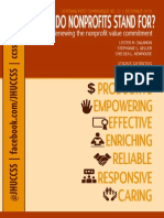 What Do Nonprofits Stand for JHUCCSS 12.2012
