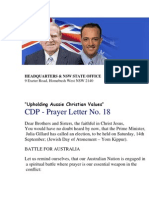 Australia Christian Dem Party 2013 Election Begin