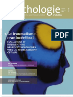 traumatisme cranio-cérébral Psy Revue Québec