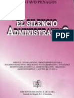 01 RESUMEN EL SILENCIO ADMINISTRATIVO- GUSTAVO PENAGOS.doc
