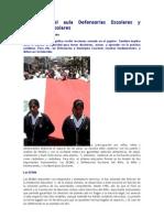 Más allá del aula Defensorías Escolares y Municipios escolares