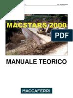 Macstars 2000 Manuale Teorico ITA