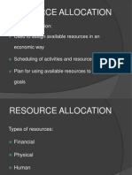 QHSE Resource Allocation