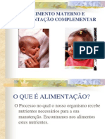ALIMENTO MATERNO E ALIMENTAÇÃO COMPLEMENTAR.ppt