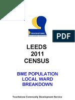 Leeds 2011 Census Ward Breakdown Feb 2013
