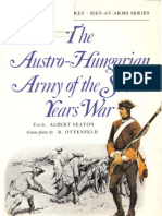 Osprey, Men-At-Arms #006 the Austro-Hungarian Army of the Seven Years War (1973) OCR 8.12