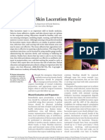 Skin Laceration Repair