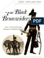 Osprey, Men-At-Arms #007 the Black Brunswickers (1973) OCR 8.12