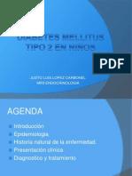 DIABETES MELLITUS TIPO 2 EN NIÑOS