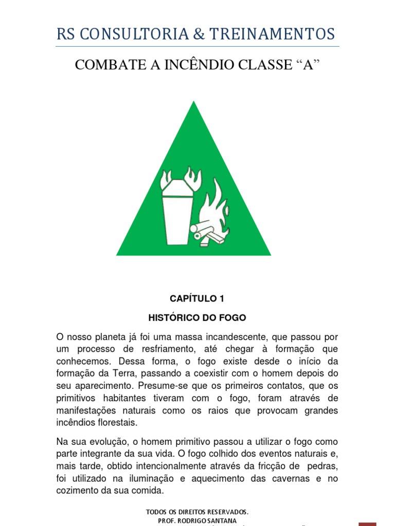 COMBATE A INCÊNDIO CLASSE A 55469d950c