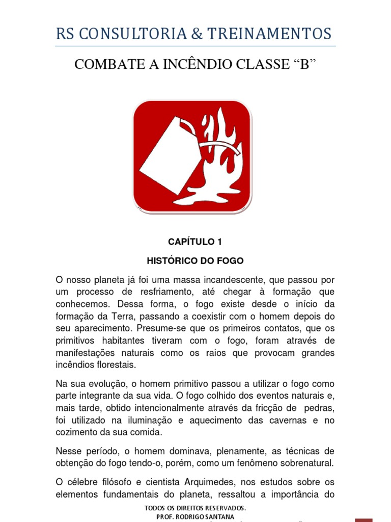 COMBATE A INCÊNDIO CLASSE B e137ea99d3