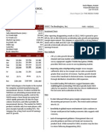 FARO Equity Research Report