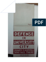 Defense in University City