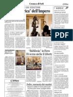 9.2.2013, 'Babilonia in Fiera. Di Scena Anche Il Liberty', Corriere Di Romagna