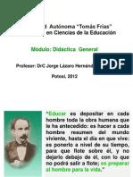 Segunda clase (I) en Potosí