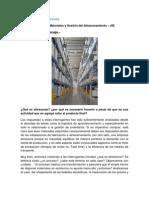 Logística de Almacenes - Gestión de Almacenaje (III)