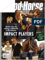 Blood Horse Cover