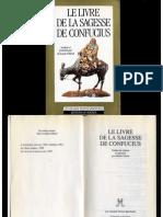 le livre de la sagesse de Confucius - éditions du rocher