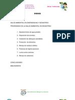 Salud Ambiental en Emergencias y Desastres