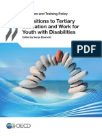 Transitions to Tertiary Education and Work for Youth with Disabilities