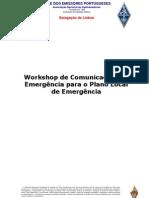 Workshop de comunicações de Emergência