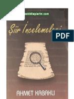 Ahmet Kabaklı - Şiir İncelemeleri