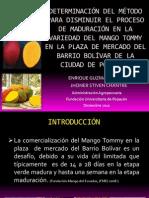 DETERMINACIÓN DEL MÉTODO PARA DISMINUIR EL PROCESO DE