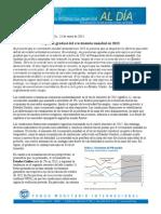 Perspectivas de La Economia Mundial 2013