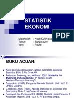 statistik ekonomi