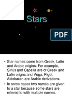 Lecture Stars and Constellations