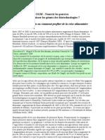 Rapport FoEI Monsanto