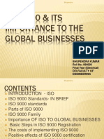 ISO 9000 & Its Importance to the Global businesses