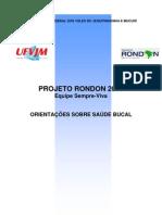 Apostila Projeto Rondon - Saude Bucal