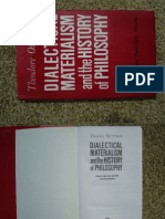 Dialectical Materialism & The History Of Philosophy.