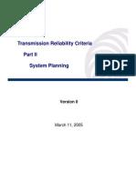 TransmissionReliabilityCriteriaVersion0cleancopupart2systemplanning