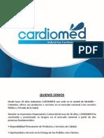Presentacion Cardiomed Sas 2011