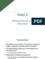 Clase 2 (Movimiento Unidimensional)