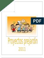 PROYECTOS PREJARDIN 2011